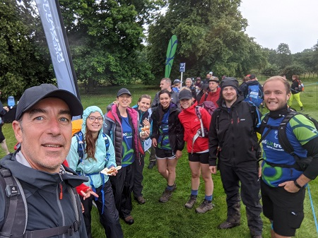 Team Tackles Trek 26 to Raise Thousands for Charity